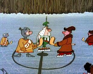Як козаки в хокей грали