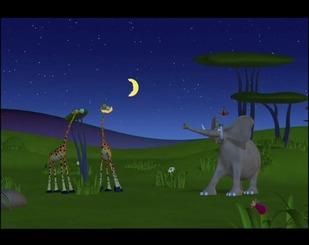 Вночі в Африці
