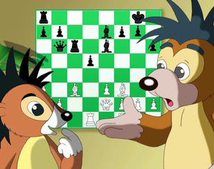 Серія 11. Їжачок-шахіст