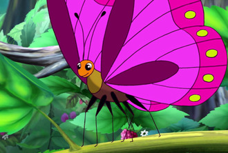 Серія 5. Гусінь та метелик