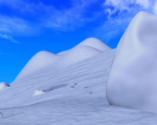 На північному полюсі
