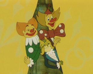 Кіт Базиліо та мишеня Пік
