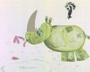 Казка про доброго носорога